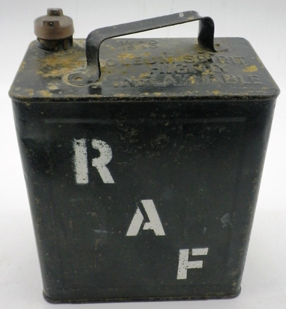 Lot 90 -  WWII two gallon petrol can.