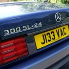 Ref 19 1991 Mercedes-Benz 300 24v SL Roadster -