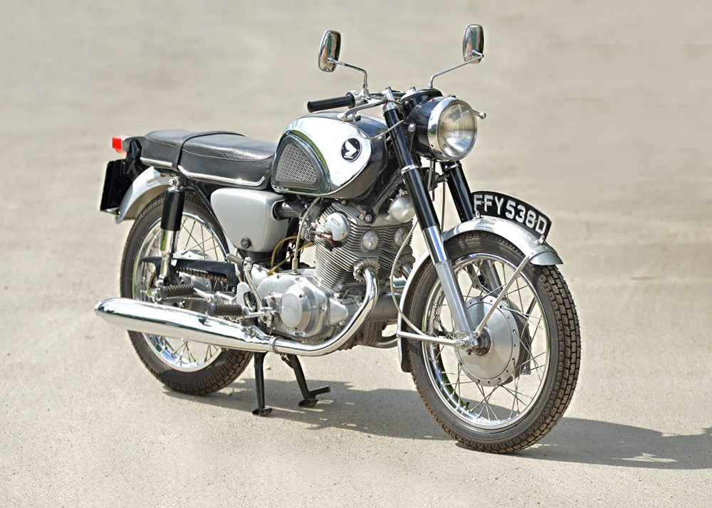 Lot 104 - 1966 Honda CB72 250cc Super Sport