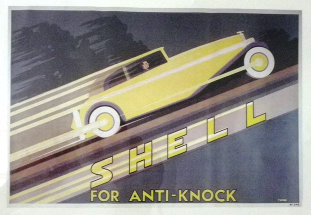 Lot 034 - Shell advertising prints