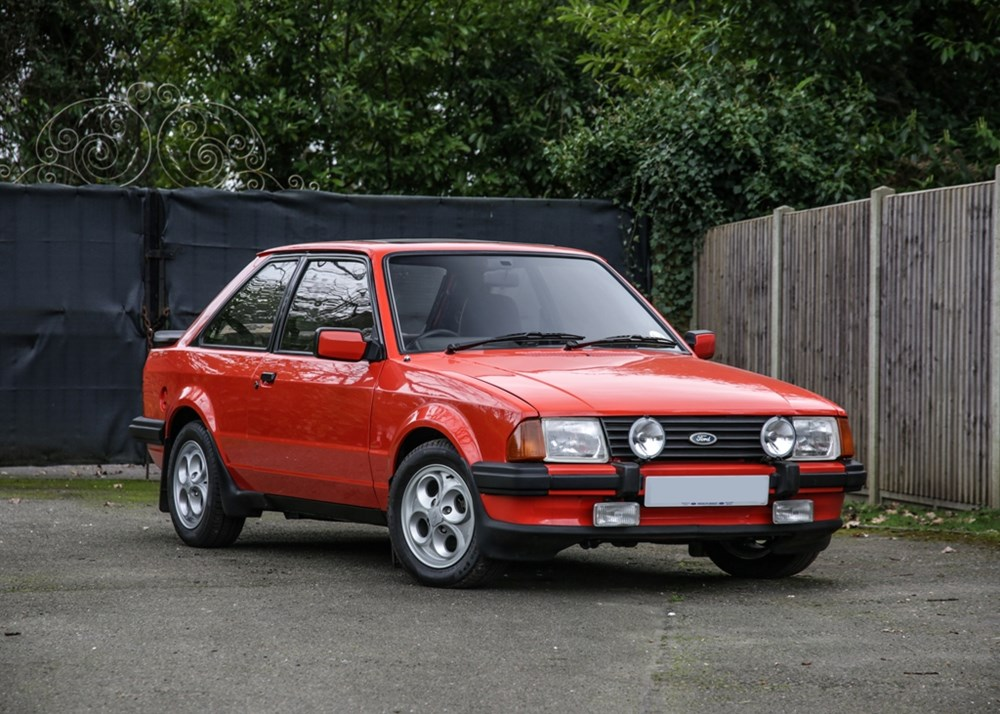 Lot 198 - 1980 Ford Escort XR3