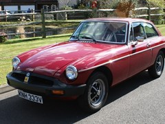 Navigate to Lot 115 - 1979 MG B GT