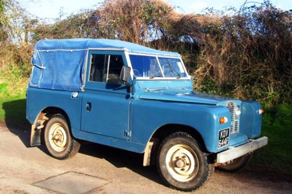 Lot 314 - 1967 Land Rover Series II