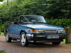 Navigate to Lot 124 - 1993 Saab 900 S Turbo T7 Abbotts Racing Convertible