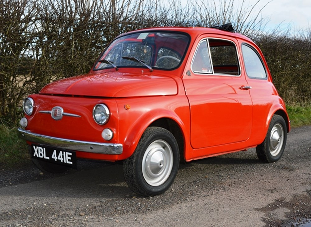 Lot 107 - 1967 Fiat Nuova 500 F Berlina