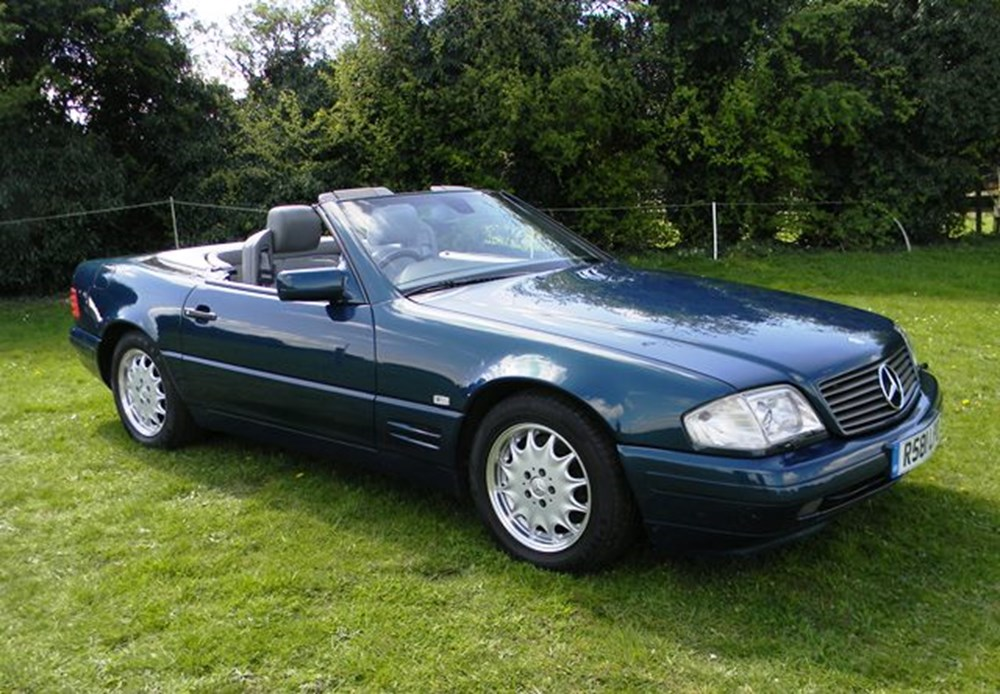 Lot 378 - 1998 Mercedes-Benz SL500