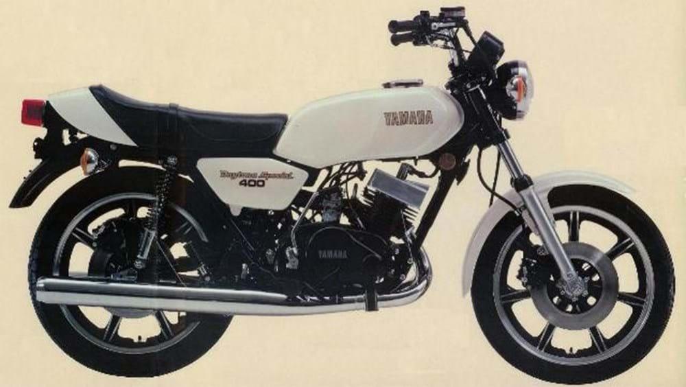 REF 227 1979 Yamaha RD400F Daytona