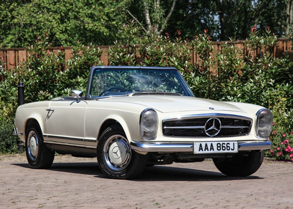 Lot 195 - 1971 Mercedes-Benz 280 SL Pagoda