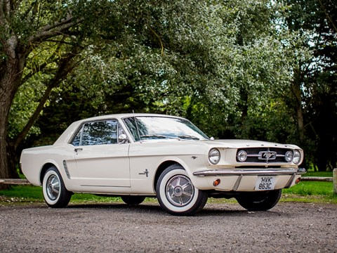 Ref 40 1965 Ford Mustang Notchback