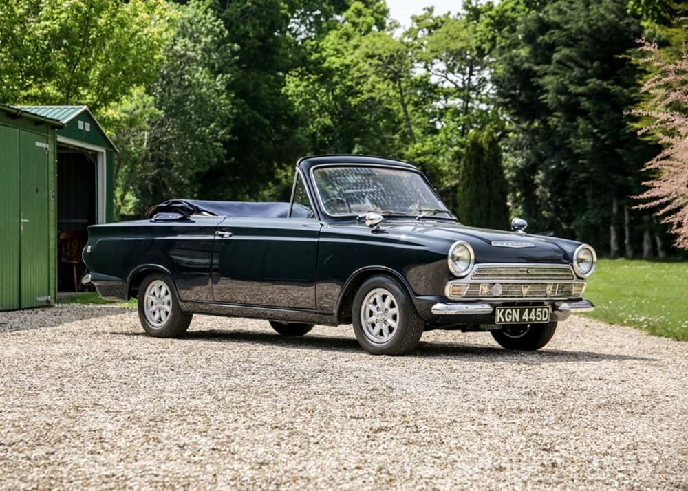 Lot 132 - 1966 Ford Cortina Mk. I Crayford Convertible (1500cc)