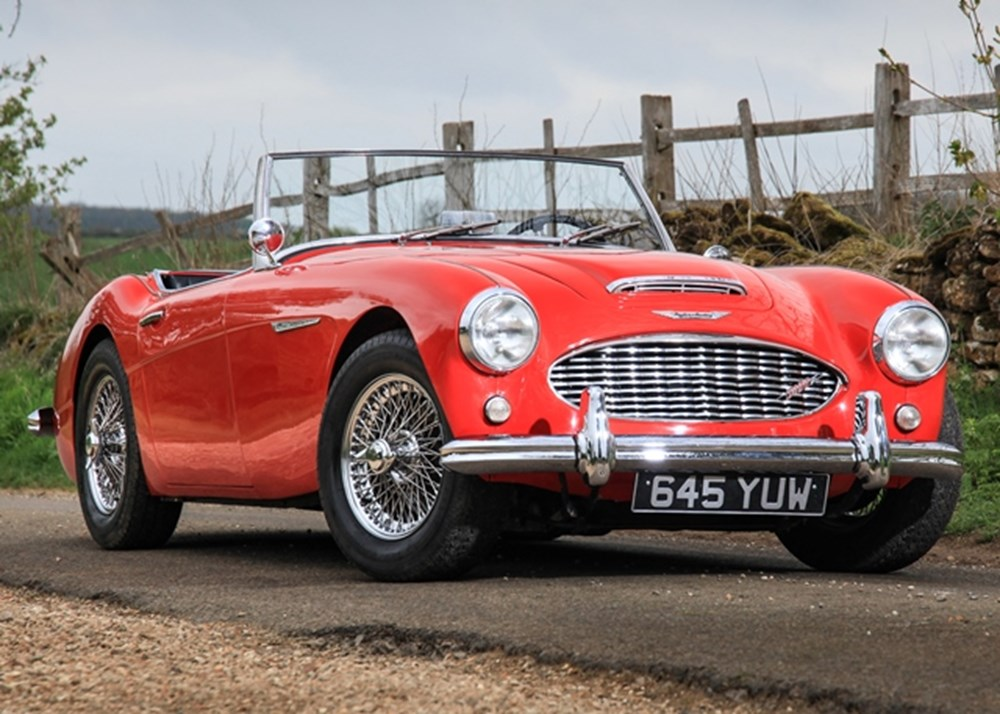 Lot 183 - 1960 Austin Healey 3000 Mk. II BT7