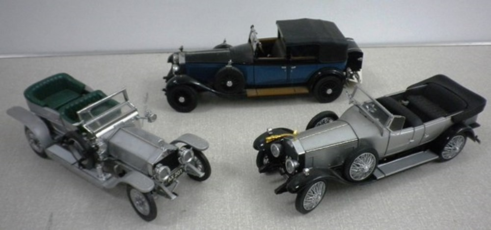 Lot 31 - Rolls-Royce models