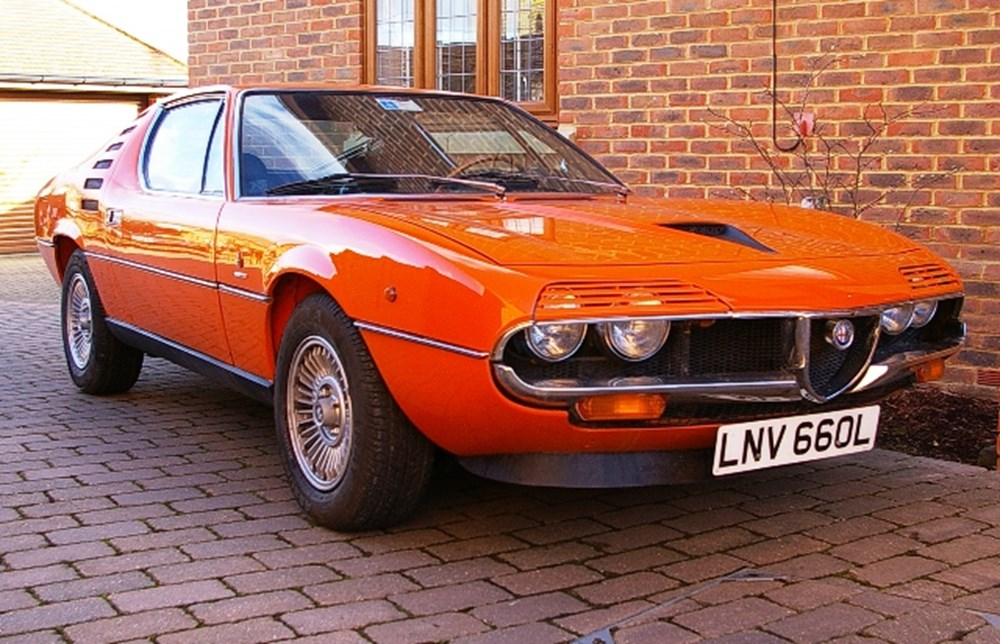 1972 Alfa Romeo Montreal Classic Sports Car Auctioneers