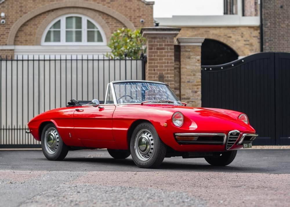 Lot 145 - 1970 Alfa Romeo 1300 Junior Round Tail Spider
