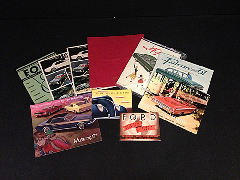 Lot 071 -  American Ford brochures