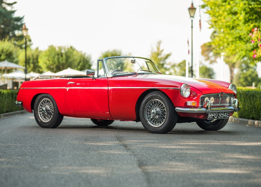 Lot 240 - 1964 MG B Roadster