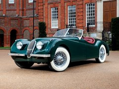 Navigate to Lot 283 - 1954 Jaguar XK120SE Roadster