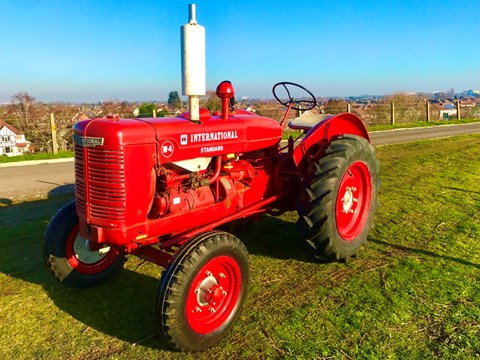 Ref 120 1940 International Harvester Standard W4 McCormick Tractor SB