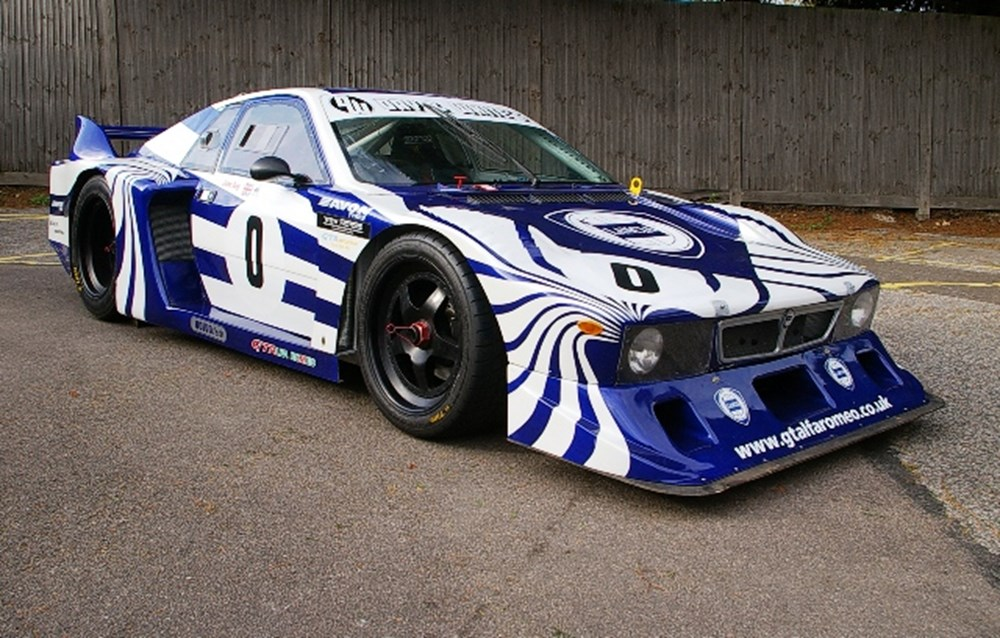 1978 Lancia Beta Montecarlo Group 5 Race Car