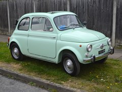 Navigate to Lot 195 - 1960 Fiat 500D Trasformabile