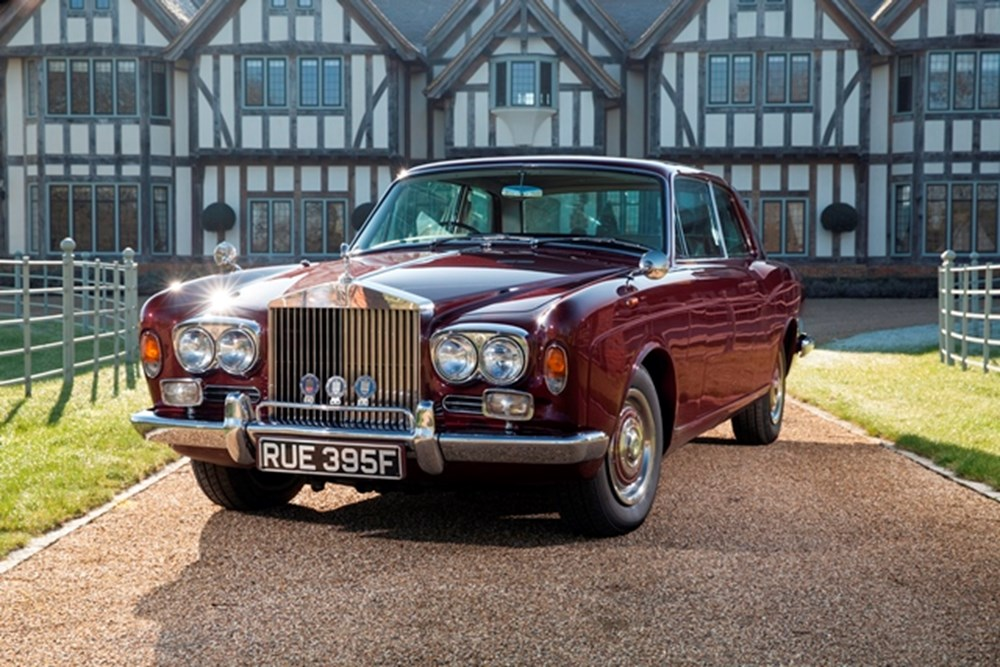 Lot 141 - 1967 Rolls-Royce Two-Door by Mulliner Park Ward
