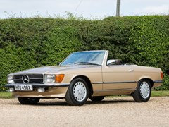 Navigate to Lot 215 - 1982 Mercedes-Benz 500 SL Roadster