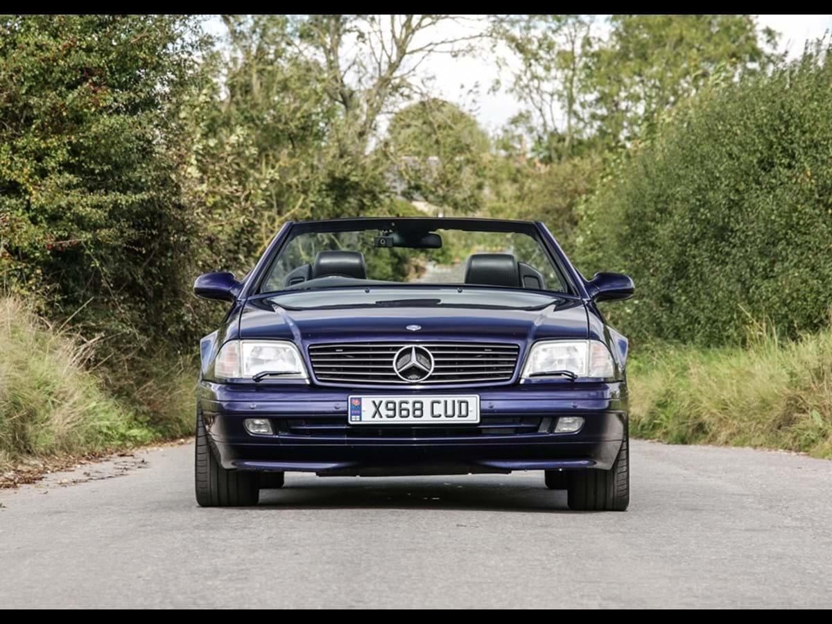 2000 Mercedes-Benz SL320 Roadster Designo Edition
