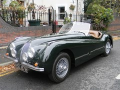 Navigate to Lot 273 - 1952 Jaguar XK120 Roadster