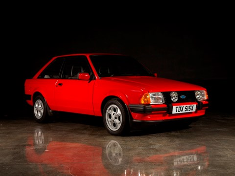 Ref 190 1981 Ford Escort XR3 MRP