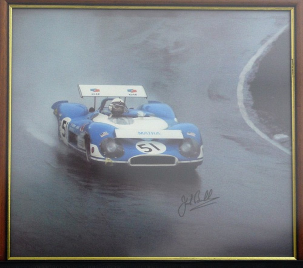 Lot 29 - A signed Jack Brabham print.