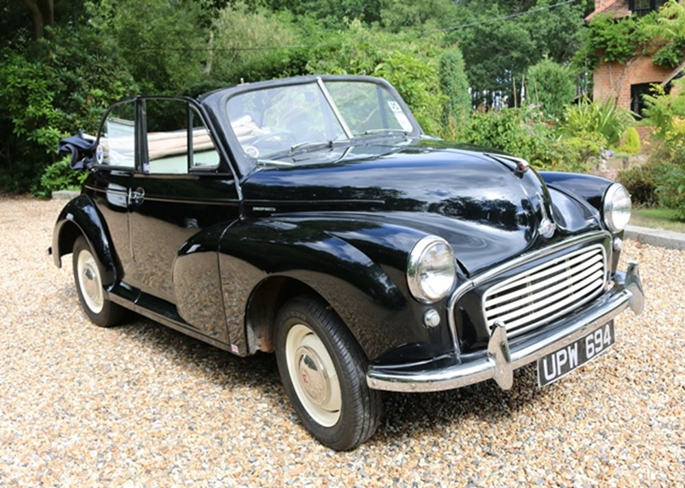 Lot 207 - 1956 Morris Minor Convertible