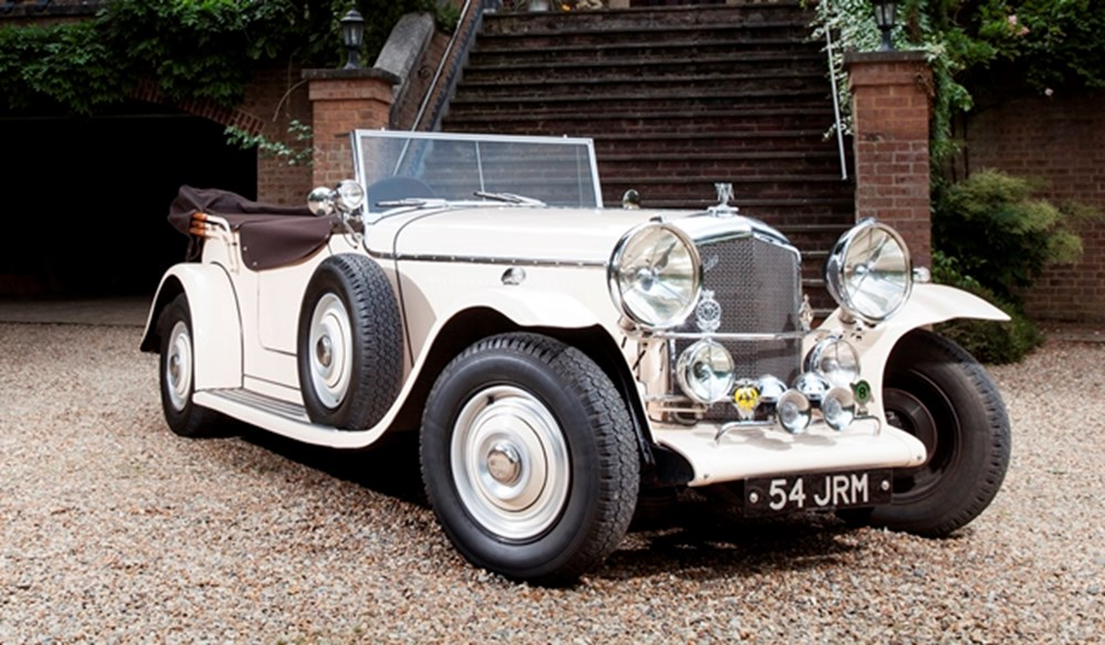 Lot 258 - 1947 Bentley Mk. VI Special Roadster by Mallalieu