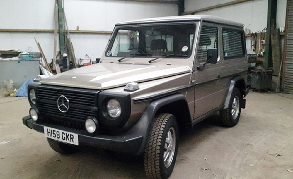 Lot 284 - 1990 Mercedes-Benz 300GD G-Wagon