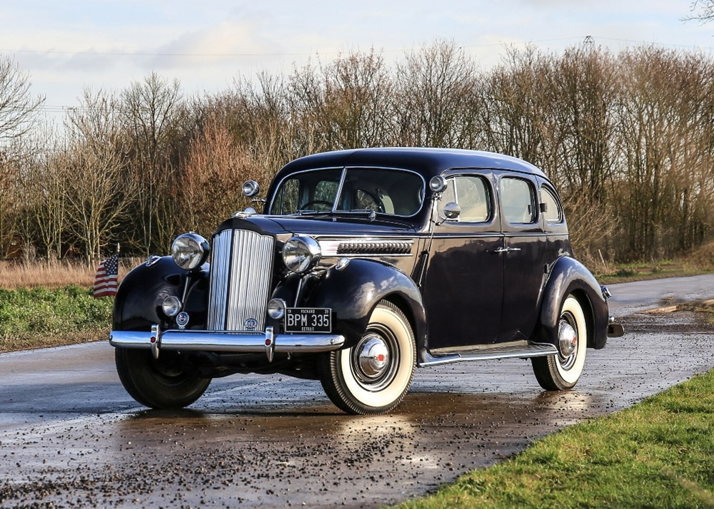 Lot 129 - 1939 Packard Six 'Four-Door' Touring Saloon