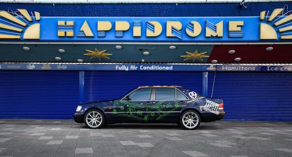 Lot 137 - 1994 Mercedes-Benz S 500 'Biggie Smalls Gangster Rapper' by Paul Karslake FRSA