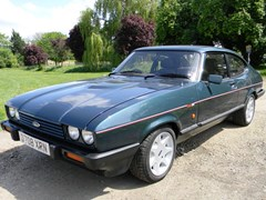 Navigate to Lot 376 - 1987 Ford Capri 280 Brooklands