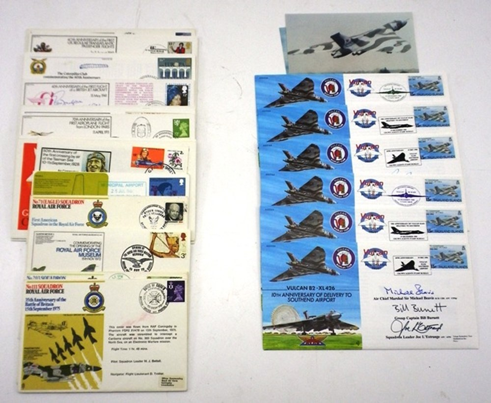 Lot 74 - Two groups of first day covers