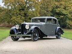Navigate to Lot 290 - 1936 Bentley 4¼ litre Sports Saloon by Park Ward