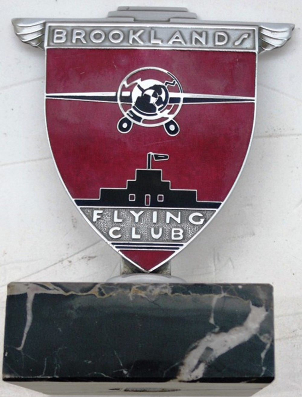 Lot 50 - Brooklands Flying Club badge.