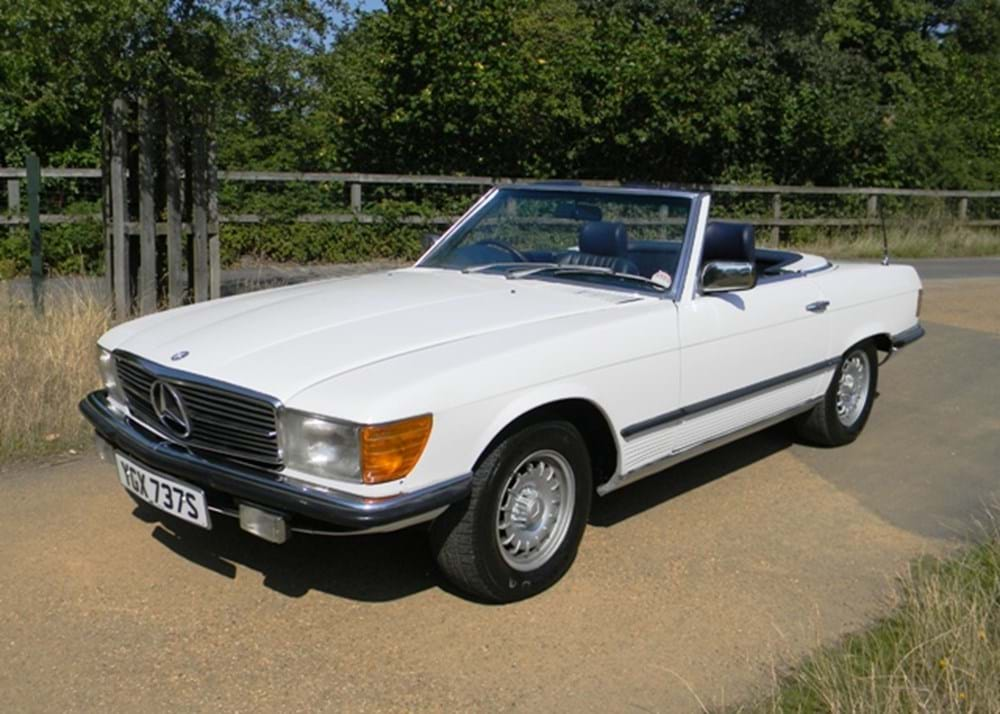 Lot 236 - 1977 Mercedes-Benz 350SL