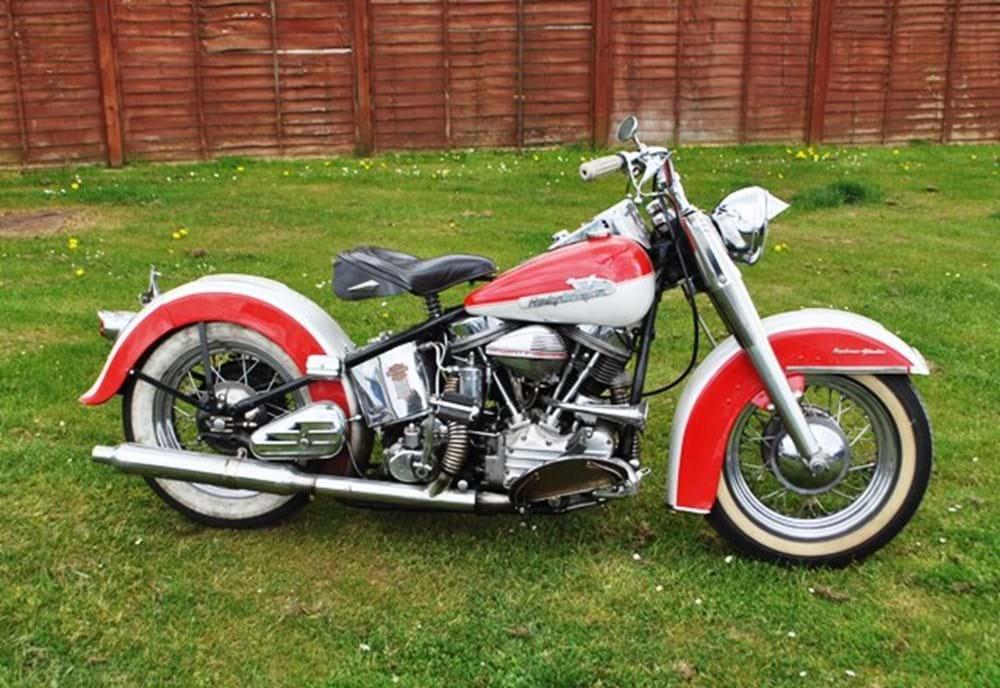 1956 Harley Davidson Panhead - Classic & Sports Car Auctioneers