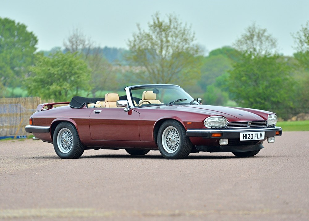 Lot 270 - 1990 Jaguar XJS Convertible (5.3 litre)