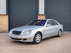 Navigate to Lot 133 - 2003 Mercedes-Benz S500