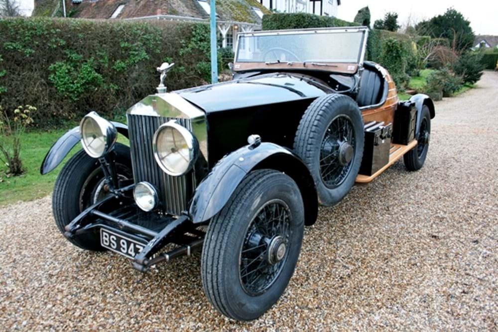 1929 Rolls-Royce Phantom II Boat Tail Roadster