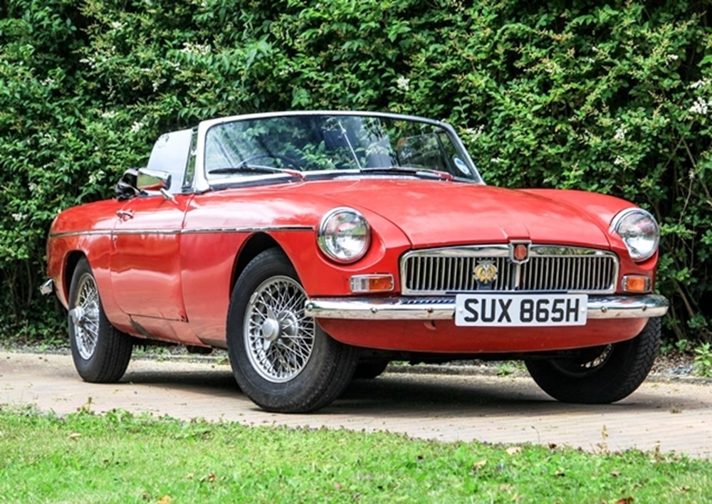 Lot 349 - 1969 MG B Roadster