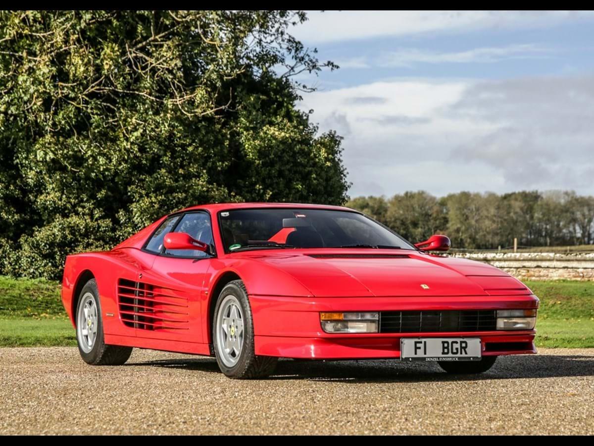 1989 Ferrari Testarossa F110 AB