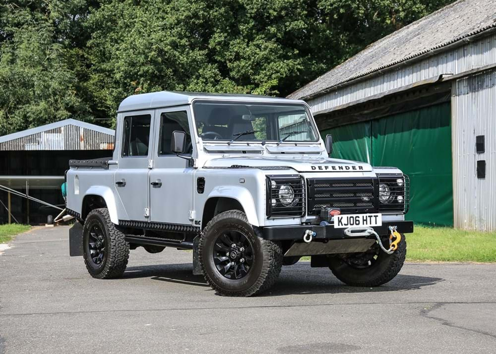 Ref 130 2006 Land Rover Defender 110 Td5 Pick Up 5 0 Litre