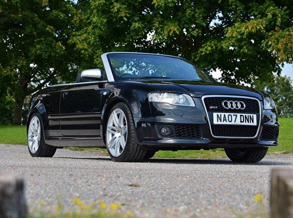 Lot 233 - 2007 Audi RS4 Cabriolet