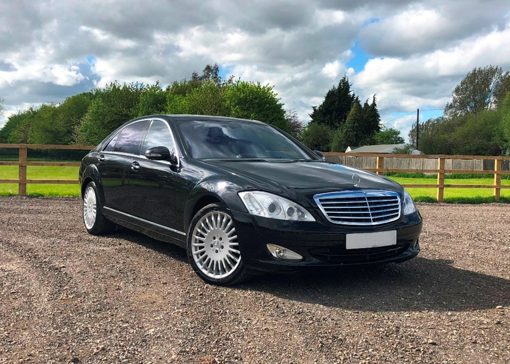 Lot 226 - 2006 Mercedes-Benz S600 owned by former World Champion Boxer 'Prince' Naseem Hamed
