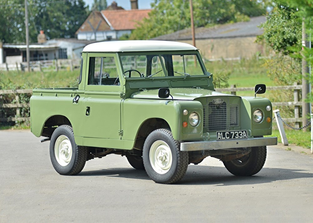 Lot 144 - 1963 Land Rover Series IIA